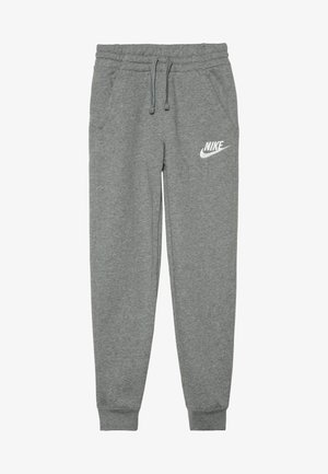 CLUB PANT - Verryttelyhousut - carbon heather/cool grey/white