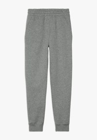 Nike Sportswear - CLUB PANT - Pantalon de survêtement - carbon heather/cool grey/white - 1