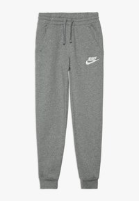 Nike Sportswear - CLUB PANT - Pantalon de survêtement - carbon heather/cool grey/white - 0