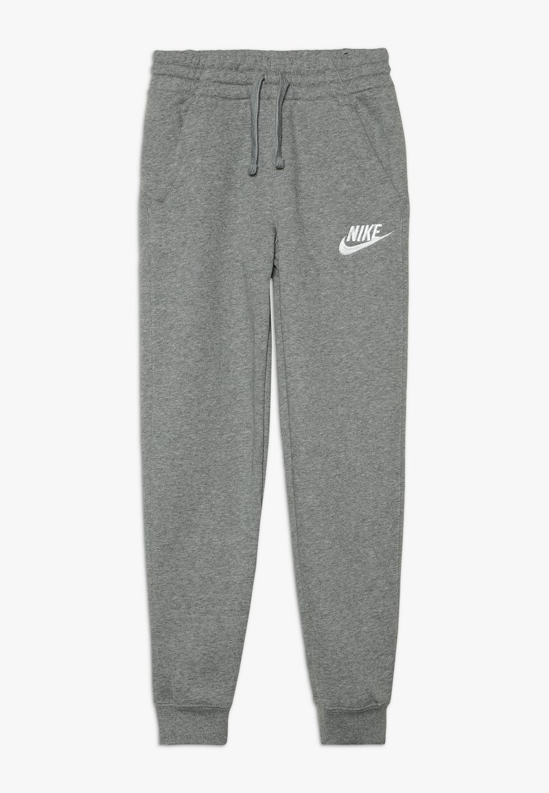 Nike Sportswear - CLUB PANT - Pantalon de survêtement - carbon heather/cool grey/white