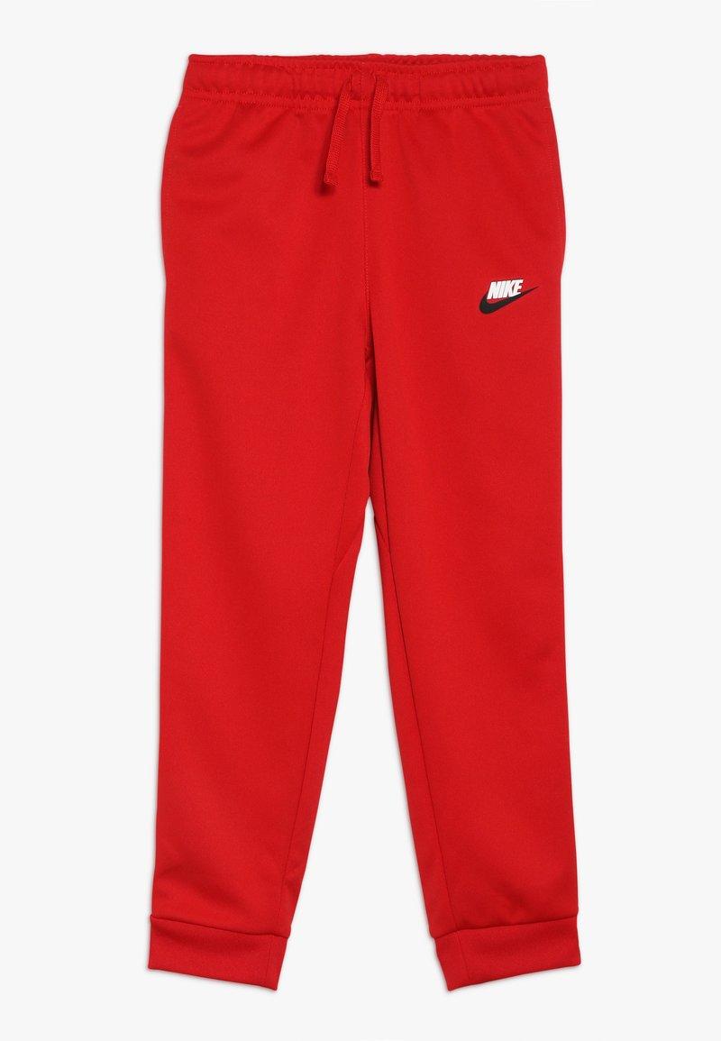 Nike Sportswear - REPEAT PANT POLY - Teplákové kalhoty - university red/white