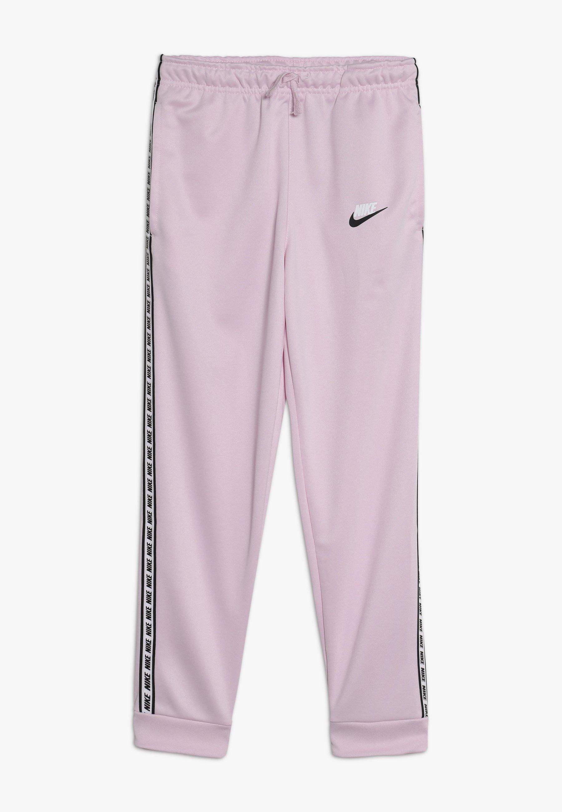 REPEAT PANT POLY Pantalon de survêtement pink foamwhite