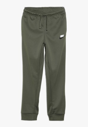 REPEAT PANT POLY - Pantalon de survêtement - medium olive/white