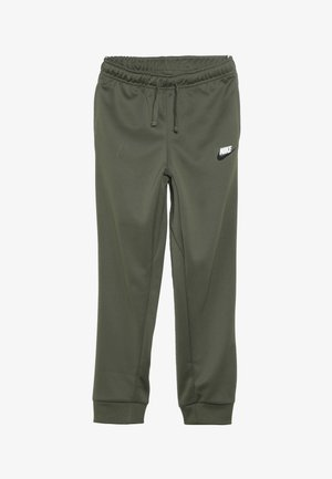 REPEAT PANT POLY - Træningsbukser - medium olive/white