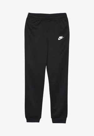 REPEAT PANT POLY - Träningsbyxor - black/white