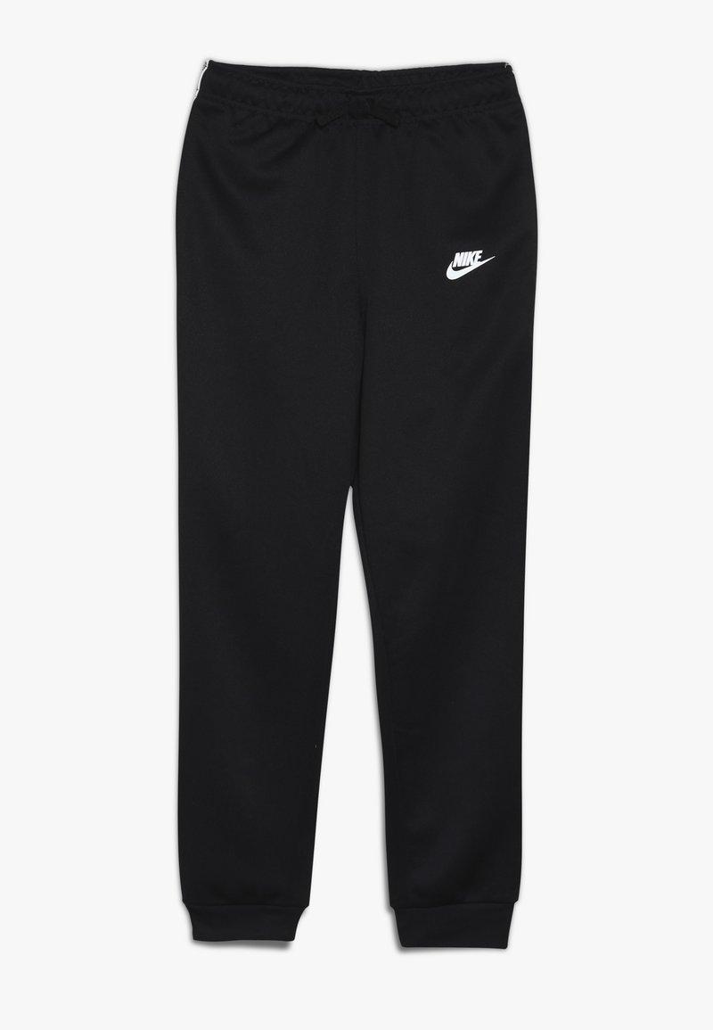 Nike Sportswear - REPEAT PANT POLY - Trainingsbroek - black/white