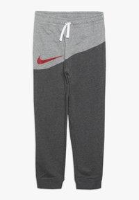 Nike Sportswear - PANT - Trainingsbroek - charcoal heather/dark grey heather/university red - 0