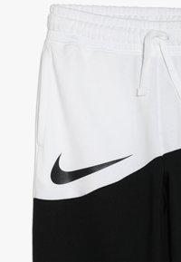 Nike Sportswear - PANT - Pantalon de survêtement - black/white - 3