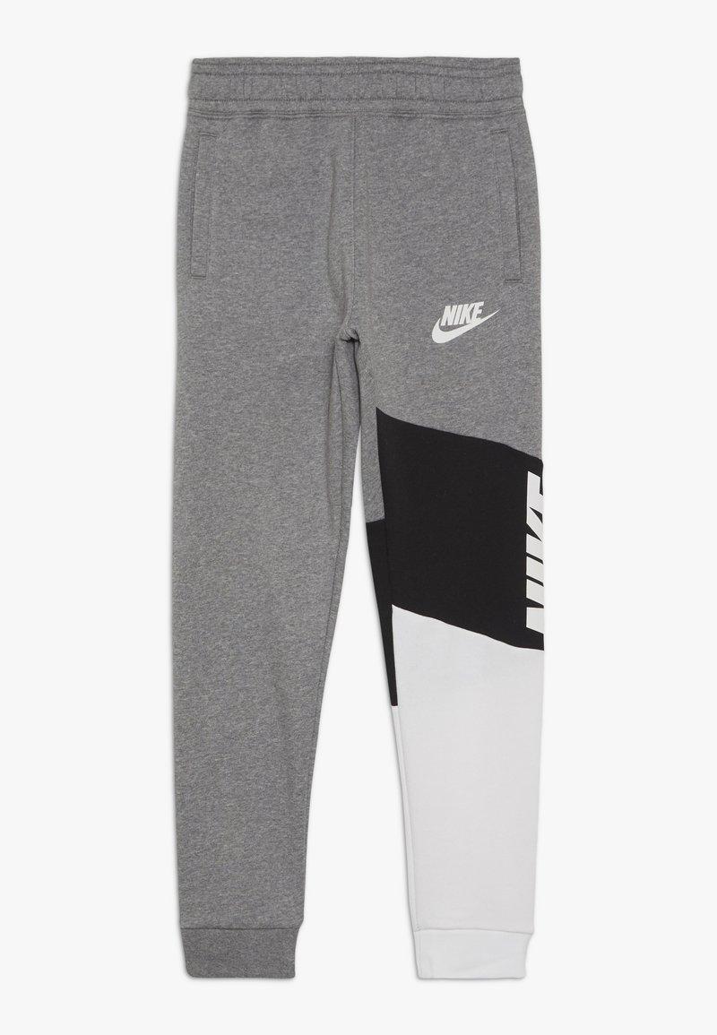 Nike Sportswear - CORE AMPLIFY PANT - Tracksuit bottoms - carbon heather/black/white