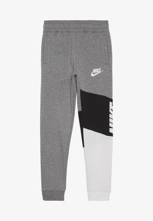 CORE AMPLIFY PANT - Pantaloni sportivi - carbon heather/black/white