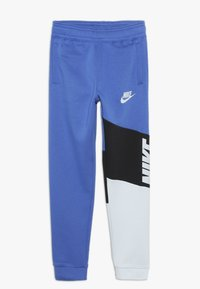 Nike Sportswear - CORE AMPLIFY PANT - Träningsbyxor - game royal/black/pure platinum - 0