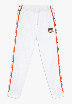 Pantalones deportivos - white/team orange