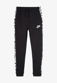 Nike Sportswear - ENERGY PANT - Spodnie treningowe - black/white - 2