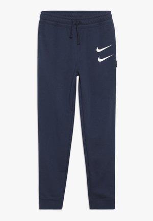 Pantalon de survêtement - midnight navy/white
