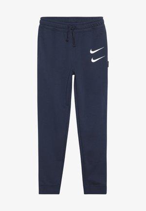 Teplákové kalhoty - midnight navy/white