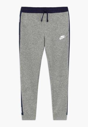 HYBRID PANT - Pantalones deportivos - grey heather/midnight navy/white
