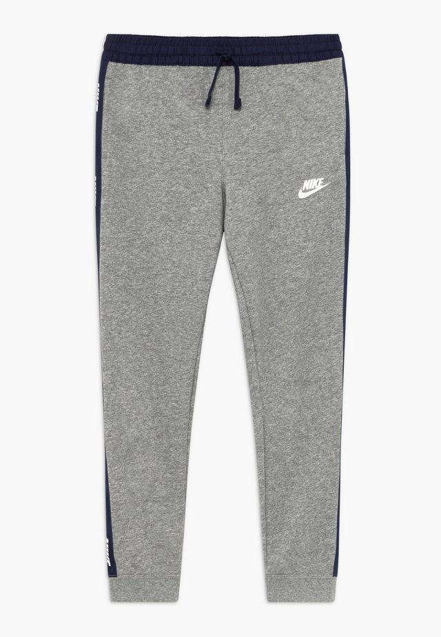 HYBRID PANT - Träningsbyxor - grey heather/midnight navy/white