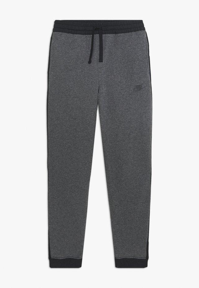 HYBRID PANT - Pantalon de survêtement - obsidian mist/football grey/track red
