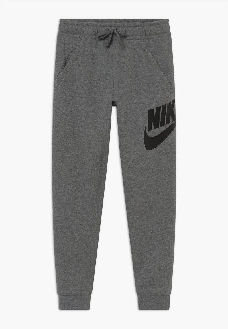 Nike Sportswear - B NSW CLUB + HBR PANT - Pantalones deportivos - carbon heather/smoke grey/black