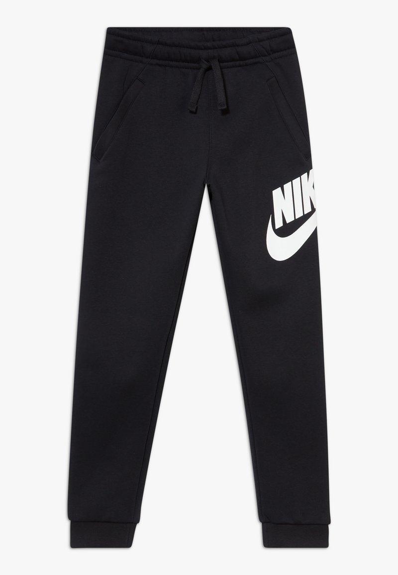 Nike Sportswear - CLUB PANT - Tracksuit bottoms - black/white