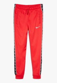 Nike Sportswear - TAPE - Pantalon de survêtement - university red/white - 0