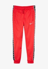 Nike Sportswear - TAPE - Pantalon de survêtement - university red/white - 2