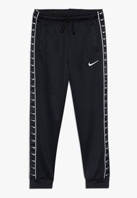 Nike Sportswear - TAPE - Trainingsbroek - black/white - 0