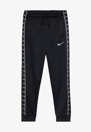 TAPE - Pantalon de survêtement - black/white