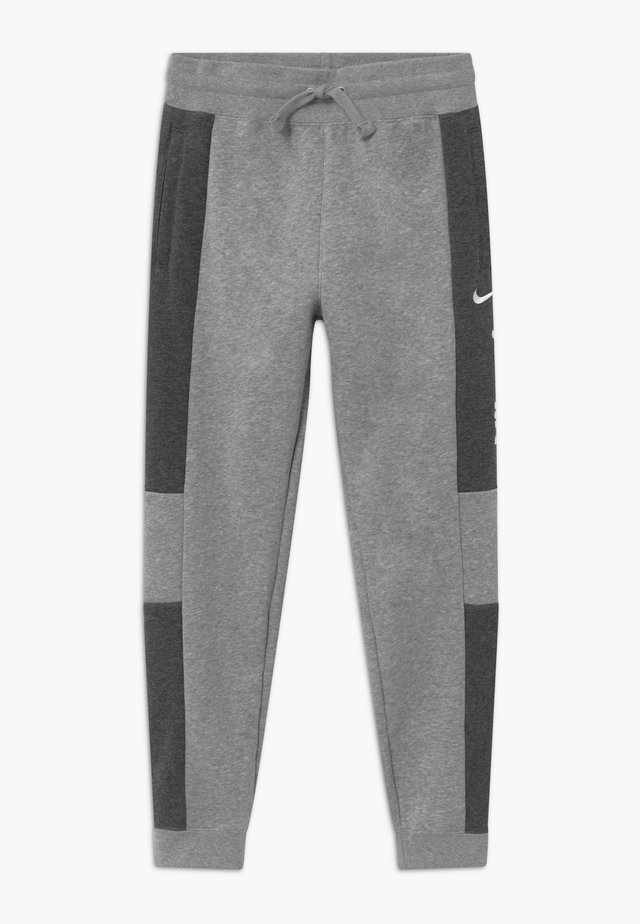 Trainingsbroek - charcoal heather/grey heather/white