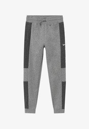 Pantalon de survêtement - charcoal heather/grey heather/white