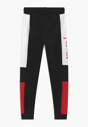 Tracksuit bottoms - black/university red/white