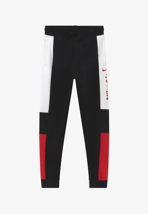Pantalon de survêtement - black/university red/white