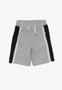 Nike Sportswear - AIR - Pantalon de survêtement - dark grey heather/white/black - 3