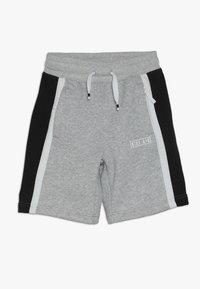 Nike Sportswear - AIR - Pantalon de survêtement - dark grey heather/white/black - 0