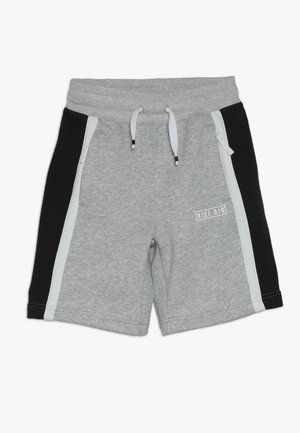 AIR - Joggebukse - dark grey heather/white/black