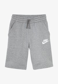 Nike Sportswear - CLUB SHORT - Szorty - carbon heather/smoke grey/white - 2