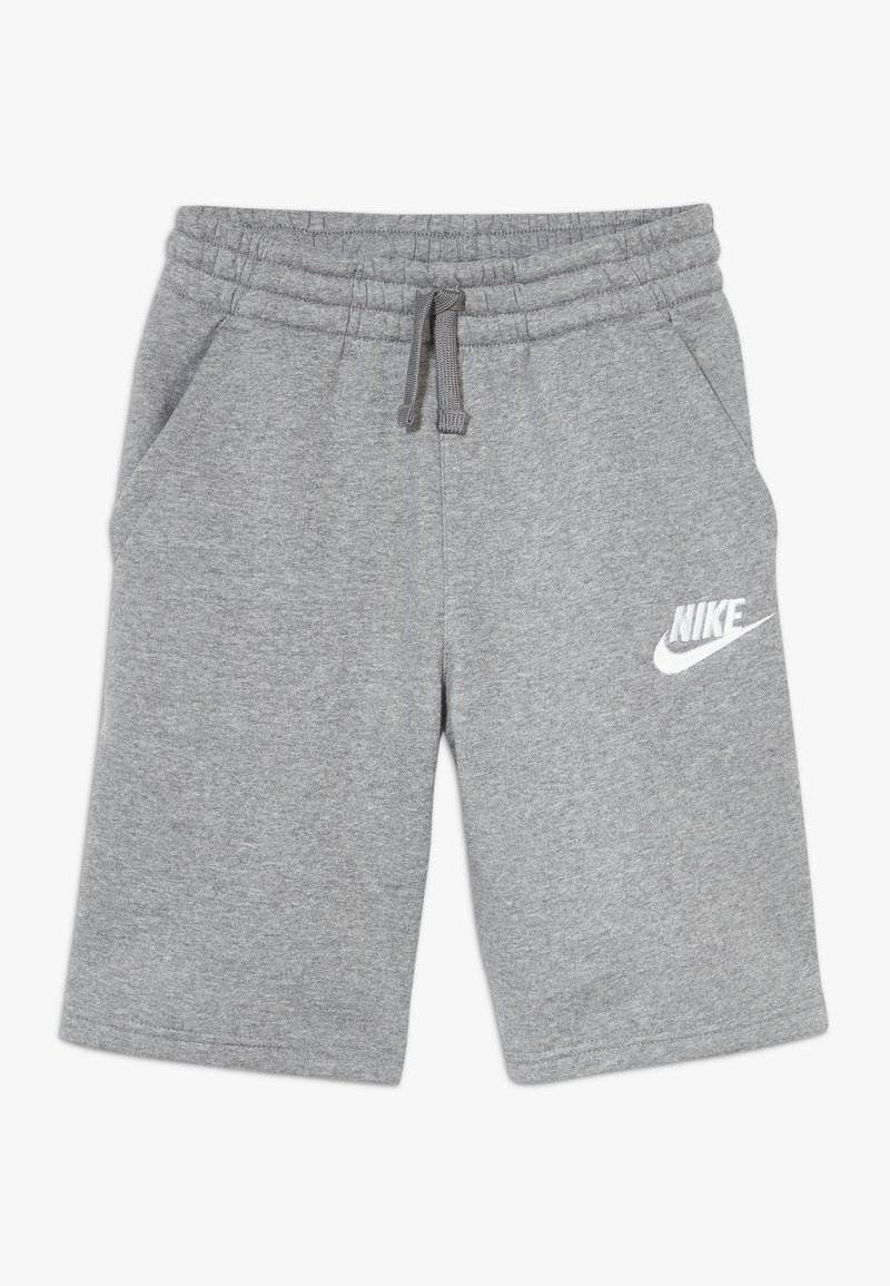 Nike Sportswear - CLUB SHORT - Szorty - carbon heather/smoke grey/white