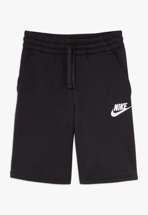CLUB SHORT - Kraťasy - black/black/white