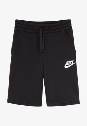 CLUB SHORT - Trainingsbroek - black/black/white
