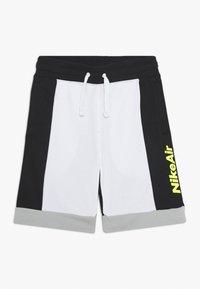 Nike Sportswear - AIR  - Pantalon de survêtement - white/black/light smoke grey/volt - 0