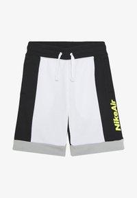 Nike Sportswear - AIR  - Pantalon de survêtement - white/black/light smoke grey/volt - 2
