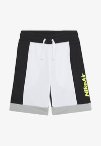 Nike Sportswear - AIR  - Tracksuit bottoms - white/black/light smoke grey/volt - 2