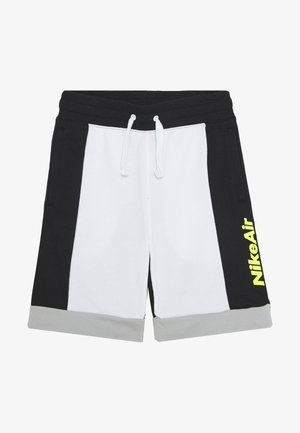 AIR  - Tracksuit bottoms - white/black/light smoke grey/volt