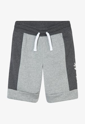 AIR  - Tracksuit bottoms - charcoal heathr/dark grey heather/white