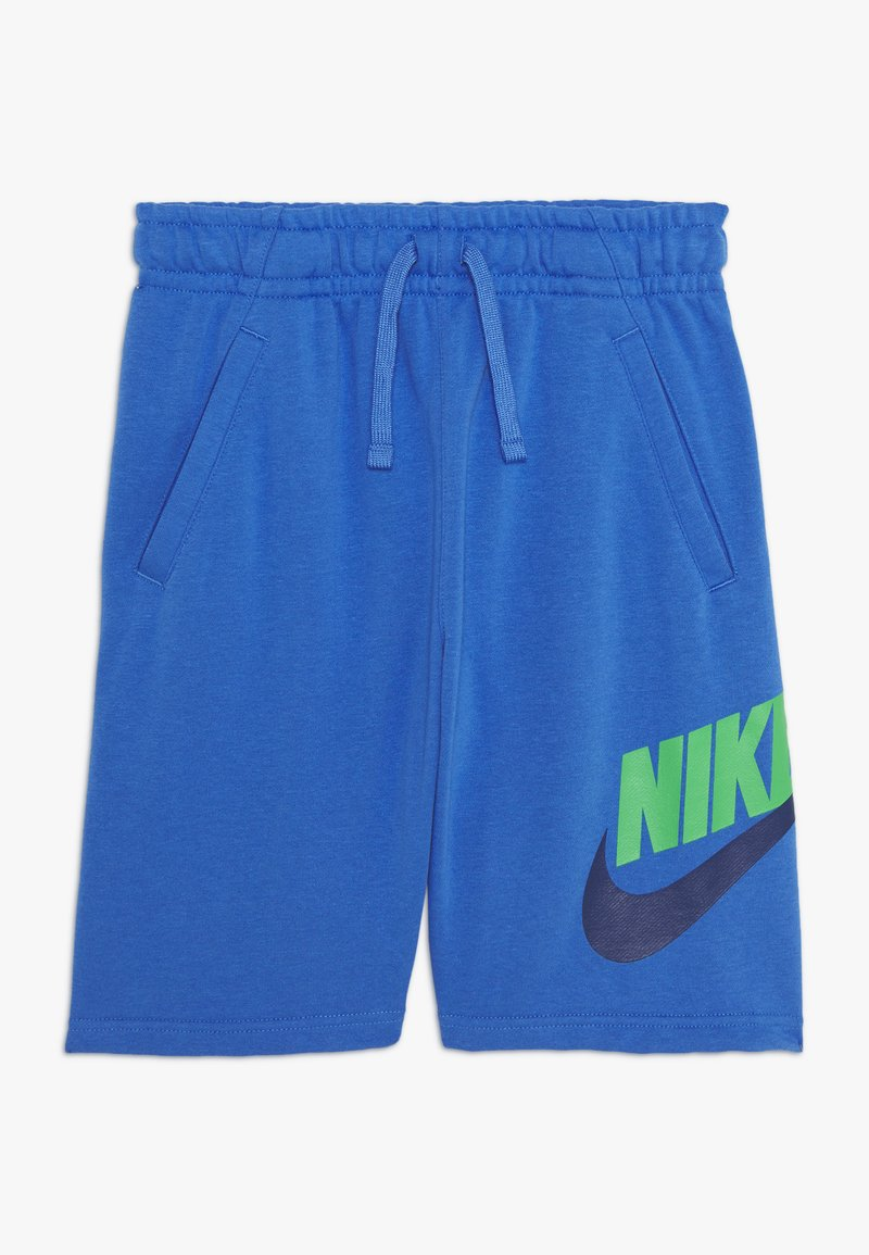 Nike Sportswear - CLUB - Tracksuit bottoms - pacific blue/green spark
