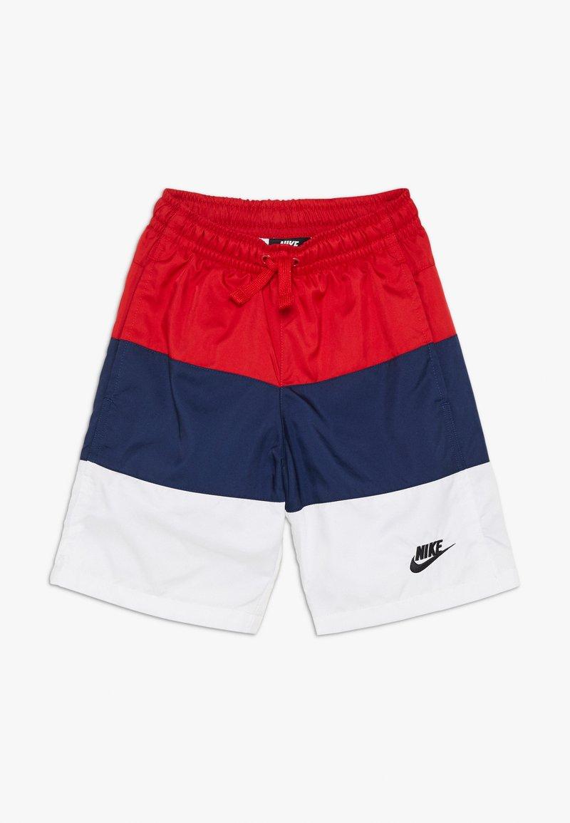 Nike Sportswear - BLOCK - Short - university red/midnight navy/white/black