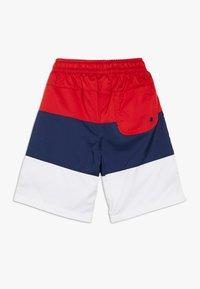 Nike Sportswear - BLOCK - Short - university red/midnight navy/white/black - 1