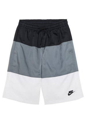 BLOCK - Shorts - black/smoke grey/white