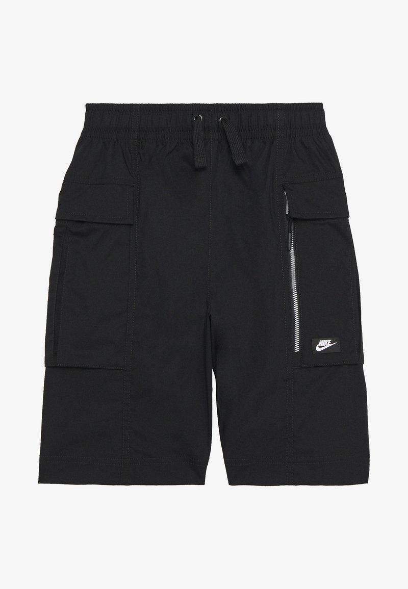 Nike Sportswear - Bojówki - black