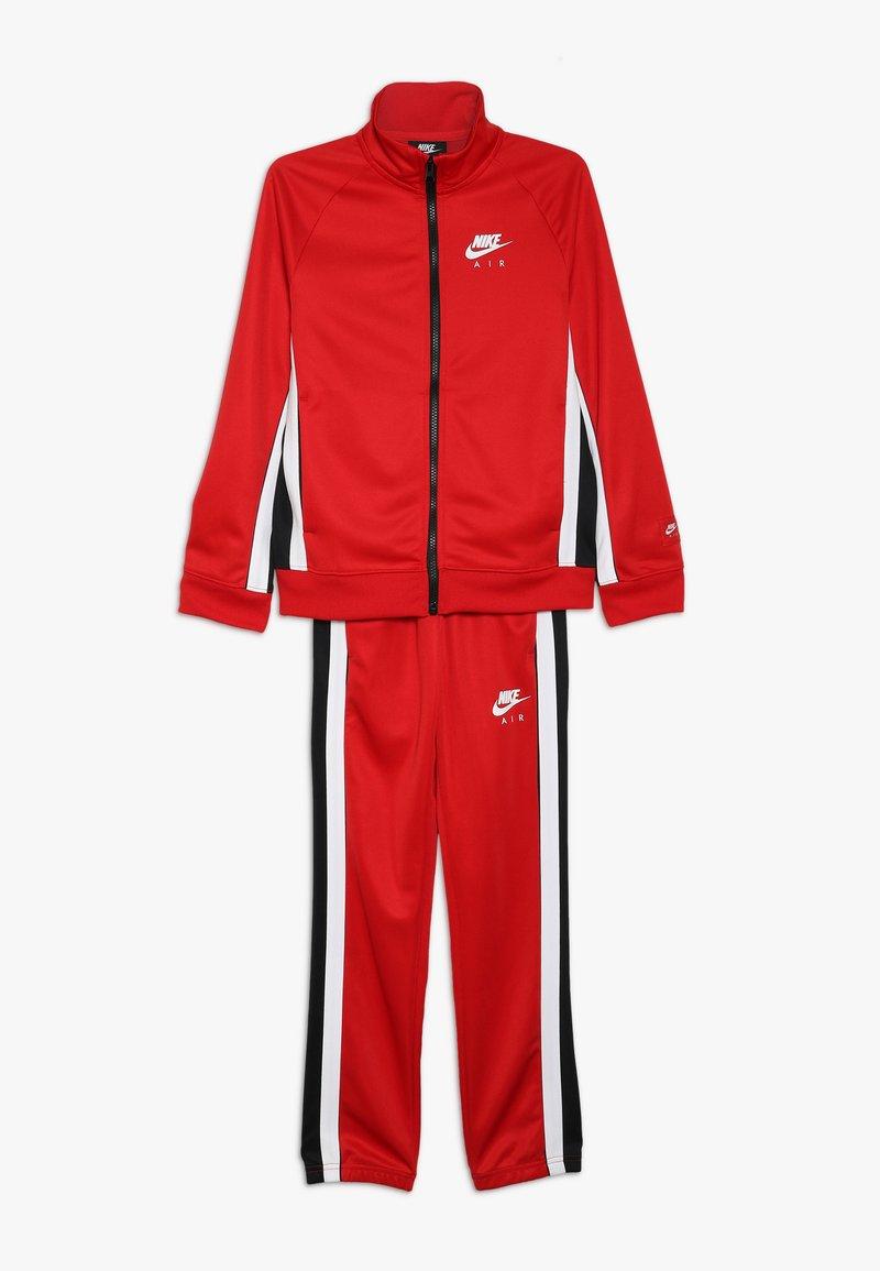 Nike Sportswear - AIR TRACK SUIT - Treningsdress - university red/black/white